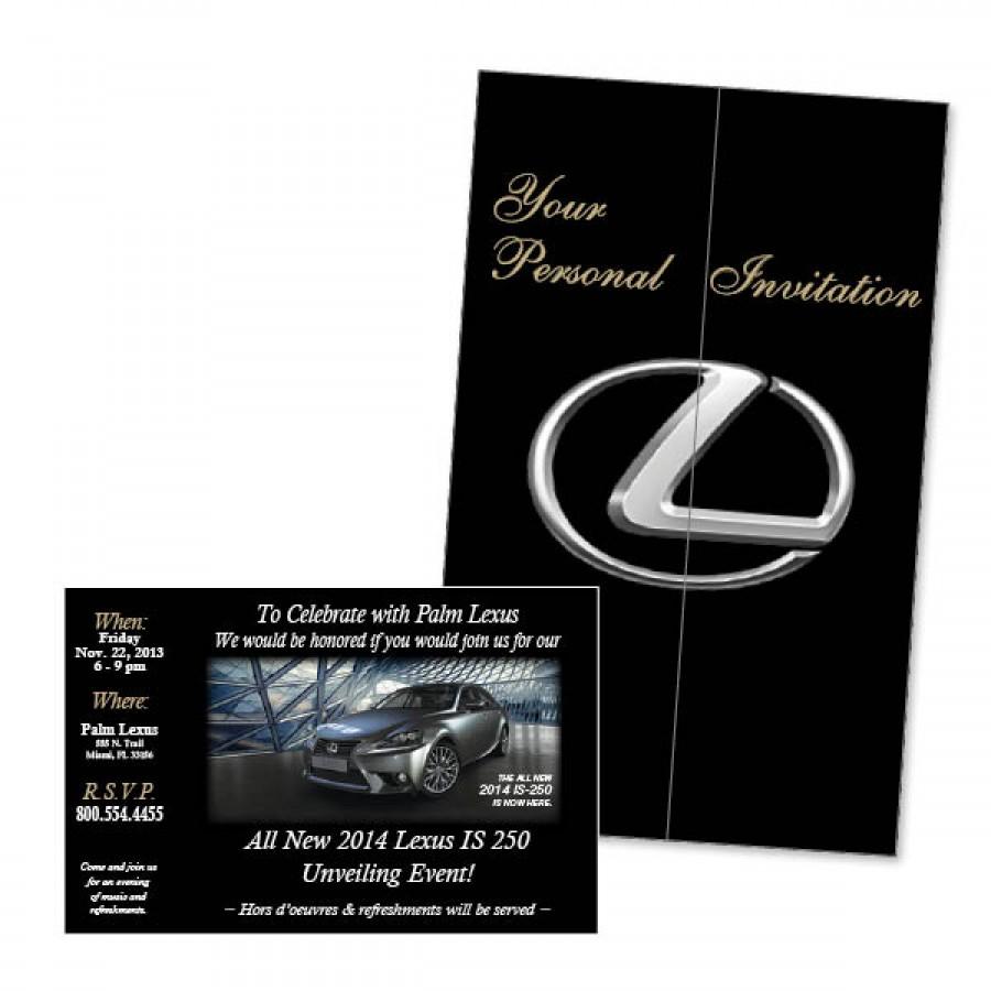 9 75 x 15 tri fold invitation style self mailer ims auto
