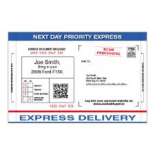 10 5 x 17 tri fold snap apart jumbo service mailers ims auto